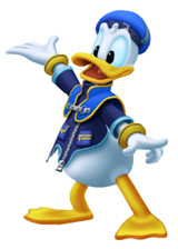 Donald in Kingdom Hearts 2