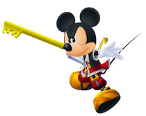 King Mickey in Kingdom Hearts 2