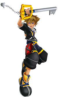 Sora in Kingdom Hearts 2