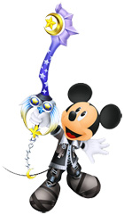 King Mickey in KH: Birth By Sleep