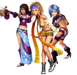 Kairi, Rikku, Aqua