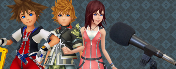 Voicing in the Kingdom Hearts series