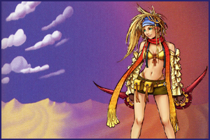 Rikku, a fan favorite from Final Fantasy X, could have fit very well in Agrabah's desert atmosphere. If only they hadn't made her a pixie.