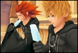 """In Days, Roxas gave Axel the winning ice cream stick. You're right, Roxas, Axel is a """"winner"""" by all means."""
