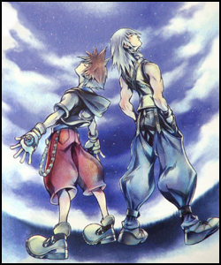 "When looking at gender stereotypes, people often overlook the fact that men get their own treatment--a positive stereotype is still a stereotype, as they say. Both Sora and Riku fall into the ""Knights in Shining Armor"" role at times."