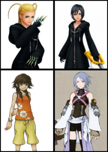 Since Chain of Memories, Kingdom Hearts has definitely offered stronger female characters to players of the series. We've even got a playable female character now in Aqua from Birth by Sleep. We can only assume the strong women will keep coming--in good characters and bad.