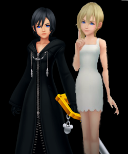 Xion and Namine have very similar personalities. Both characters could be said to owe a lot of their characteristic sadness to Ventus, whose heart was alongisde Sora's when they were created.