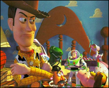 Toy Story (1995), an ongoing classic. It's Pixar's Snow White.