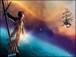 Treasure Planet (2002), an underrated Disney classic.