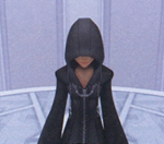 Xion, the ultimate replica. Her appearance wasn't as definite as Riku Replica's was. It truly exemplifies her role as a puppet--even her appearance is controlled by those around her.
