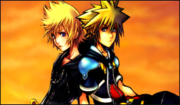 In personality and relevance, Sora and Roxas are almost polar opposites. Sora's outgoing, Roxas is withdrawn; Roxas follows orders, Sora does whatever he feels; and so on. That isn't always a bad thing--maybe just a refreshing change?